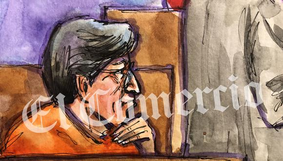 Alejandro Toledo afronta un proceso de extradición en Estados Unidos. (Foto:  Ilustración: Vicki Ellen Behringer)