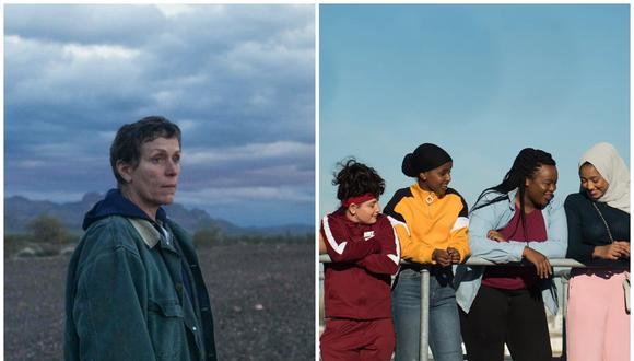 """""""Nomadland"""" y """"Rocks"""" se presentan como las favoritas para el máximo premio de los BAFTA este 11 de abril. (Foto: Searchlight Pictures/Altitude)"""