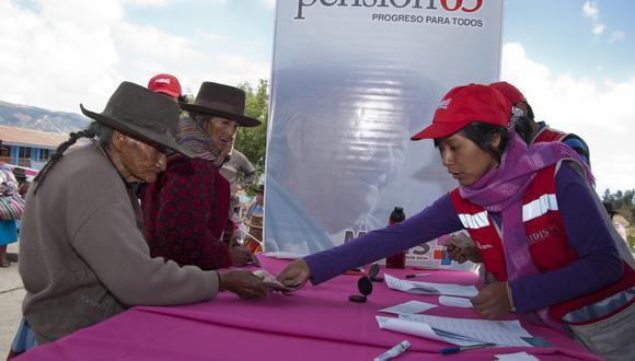 El pago adelantado consiste en dos pensiones. (Foto: GEC)