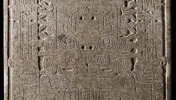 """Detalle de la Estela de Chavín o """"Estela Raimondi"""", que se encuentra actualmente en el Museo Nacional de Arqueología, Antropología e Historia del Perú, ubicado en Pueblo Libre.  (Foto: Ministerio de Cultura)"""