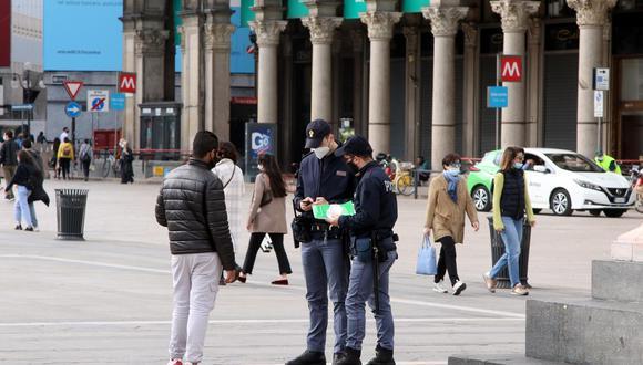 Coronavirus en Italia   Últimas noticias   Último minuto: reporte de infectados y muertos hoy, sábado 3 de abril del 2021   Covid-19   EFE
