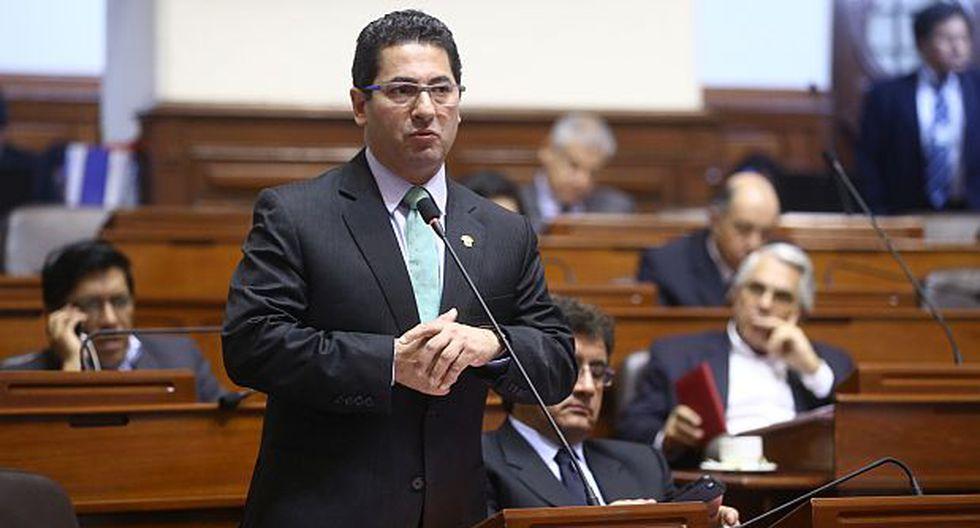 "Heresi: ""No vamos a votar a favor de José Chlimper para el BCR"""