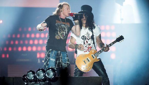 Guns N' Roses cancela concierto en Costa Rica por el coronavirus. (Foto: AFP)