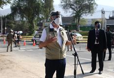 Francisco Sagasti votó en La Molina y pidió a los miembros de mesa que cumplan su labor