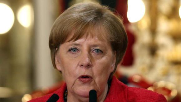 Angela Merkel, canciller de Alemania. (Foto: Reuters)