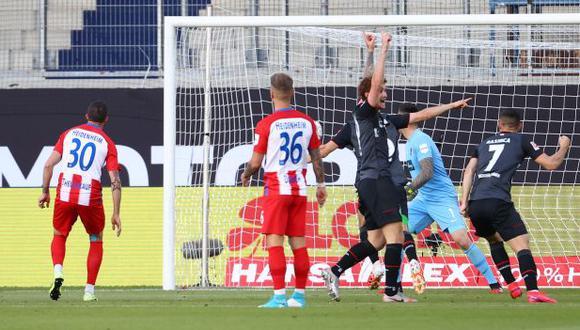 Werder Bremen vs. Heidenheim: el autogolazo que le da la salvación a equipo de Pizarro. (Foto: AFP)