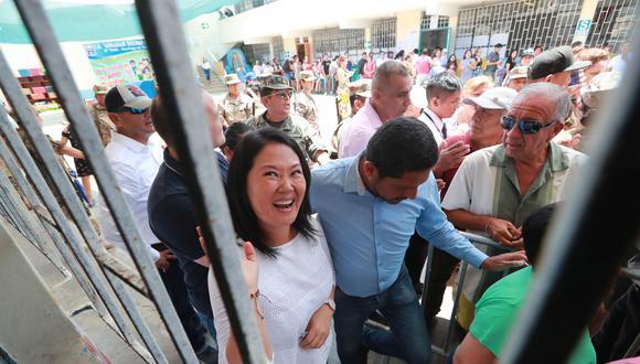 Resolución de la Segunda Sala Penal de Apelaciones ordena la excarcelación de Keiko Fujimori.   (Foto: Lino Chipana/GEC)