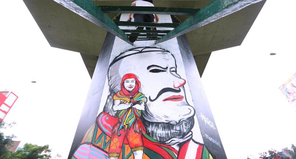 Los jóvenes artistas pertenecen a a San Juan de Lurigancho. (Foto: Alessandro Currarino)