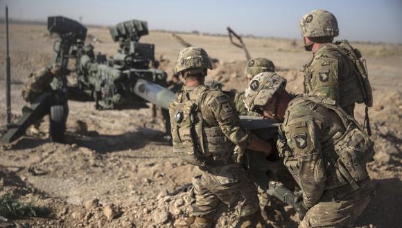 El presidente de Estados Unidos, Donald Trump, insinuó una retirada de las tropas estadounidenses de Medio Oriente. (Referencial AP)