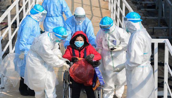 La mayoría de casos se han presentado en China. (EFE/EPA/STRINGER CHINA OUT)