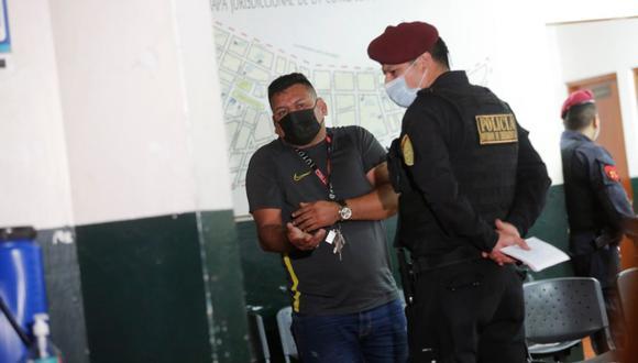 Uno de los implicados en la pelea fue detenido y llevado a la comisaría de Cotabambas. (Fotos: Cesar Grados/@photo.gec)