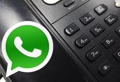 Cómo mandar y recibir mensajes de WhatsApp en tu teléfono fijo