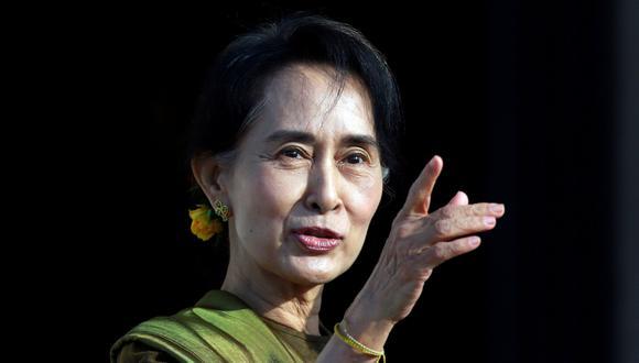 Aung San Suu Kyi está en La Haya para defender a Birmania de una denuncia de genocidio contra los rohinyas. (REUTERS/Cathal McNaughton).