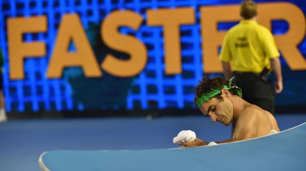 La tristeza de Federer: así se despidió de Australia [FOTOS] - 16