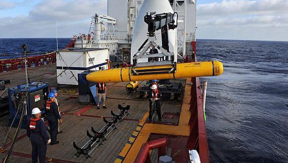 Avión desaparecido: Submarino no completa su primera misión
