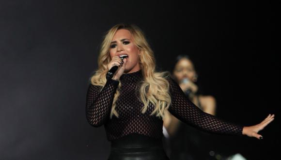 ¿Demi Lovato está con Henry Levy? Este beso lo confirmaría (Foto: EFE)