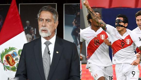 El mensaje de Francisco Sagasti para la Selección Peruana. (Foto: Agencias)
