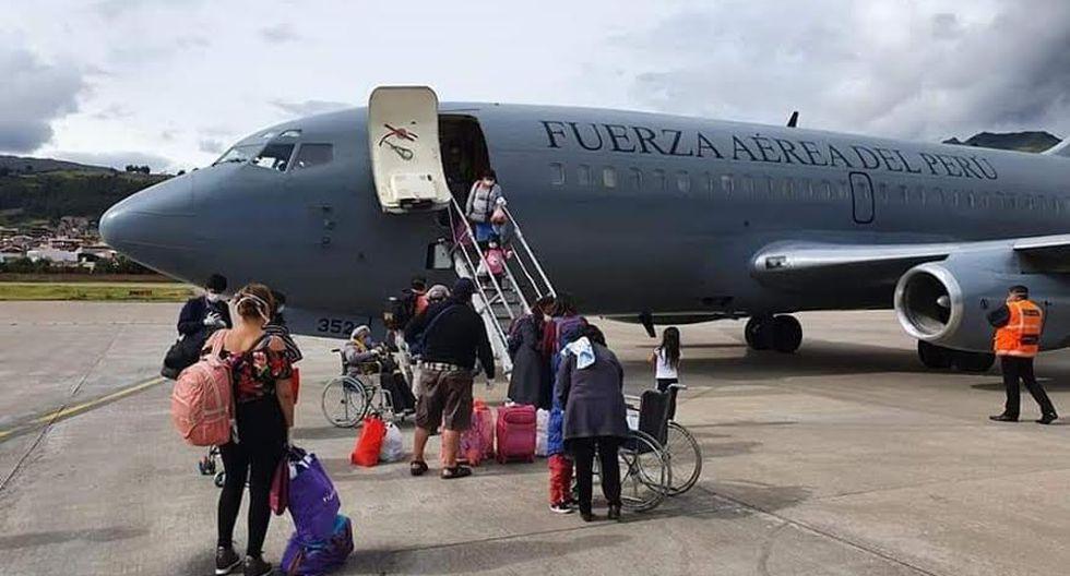 Desde Cusco han partido varios vuelos humanitarios para repatriar a extranjeros varados.