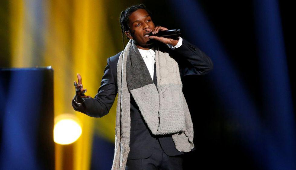 Rapero A$AP Rocky alega legítima defensa en la apertura de juicio en Suecia. (Foto: Reuters)