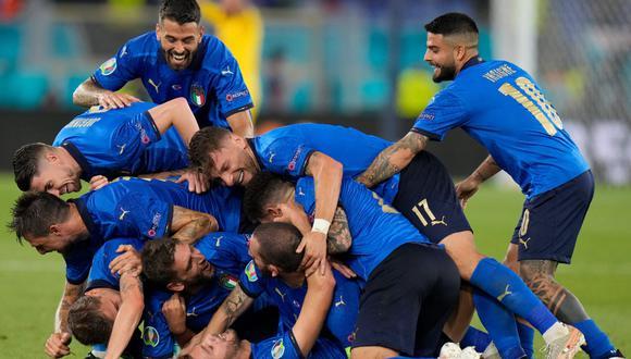 Italia goleó 3-0 a Suiza y es líder absoluto del Grupo A de la Eurocopa 2021.