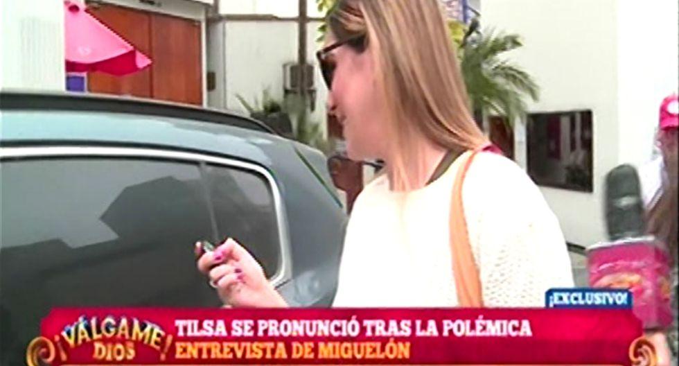 Tilsa Lozano anuncia soltería.   Foto: Captura de pantalla