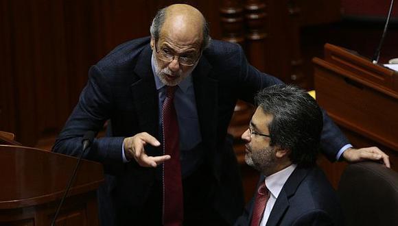 Jiménez y Abugattás llegan este miércoles a Fiscalización