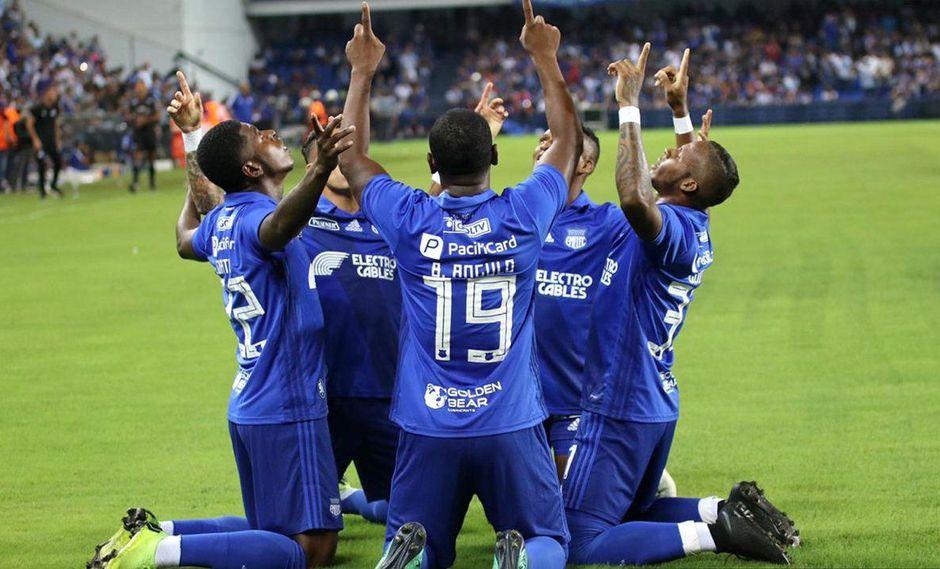 Emelec vs. Sporting Cristal EN VIVO ONLINE: el cuadro eléctrico presenta a su equipo en la 'Explosión Azul'. (Foto: Emelec).
