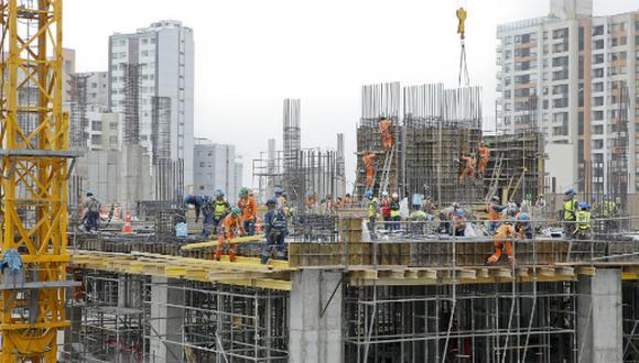 El sector construcción acumula un crecimiento de 7.2% entre enero y mayo. (Foto: USI)