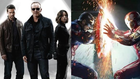 """""""Civil War"""": esta es la conexión con """"Agents of SHIELD"""""""