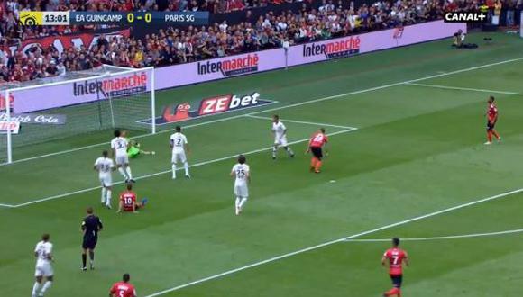 YouTube | PSG vs. Guingamp: no te pierdas espectacular atajada de Gianluigi Buffon | VIDEO
