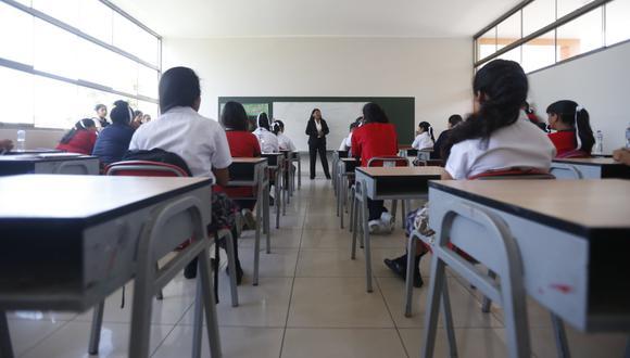 Colegios particulares han reducido entre el 20 y 30% de las pensiones debido al estado de emergencia por coronavirus. (GEC).