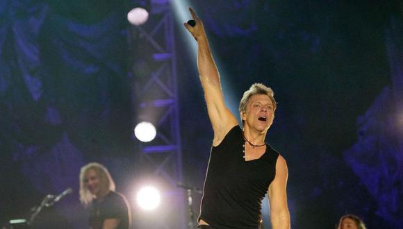 La legendaria banda Bon Jovi brindará esta noche un concierto en el Estadio Nacional. (Foto: Instagram)