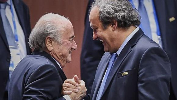FIFA: Blatter y Platini serán investigados por comisión ética