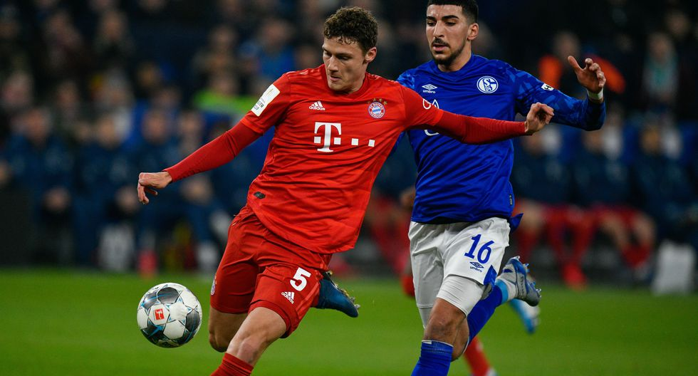 """Benjamin Pavard (Bayern Múnich): """"Un defensor con clase que puede golpear una pelota muy bien"""". (Foto: AFP)"""