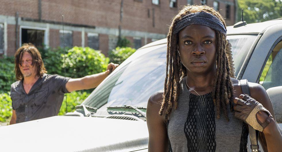 """""""The Walking Dead"""". Un secreto une a Daryl y Michonne en la temporada 9. Foto: Fox."""