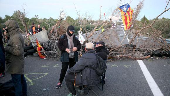 Los incidentes en Cataluña se produjeron el mismo fin de semana en el que el presidente regional Joaquim Torra se pronunciara a favor de imitar la vía eslovena a la independencia. (Foto: EFE)