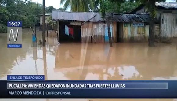 300 personas resultaron afectadas por las inundaciones. (Video: Canal N)
