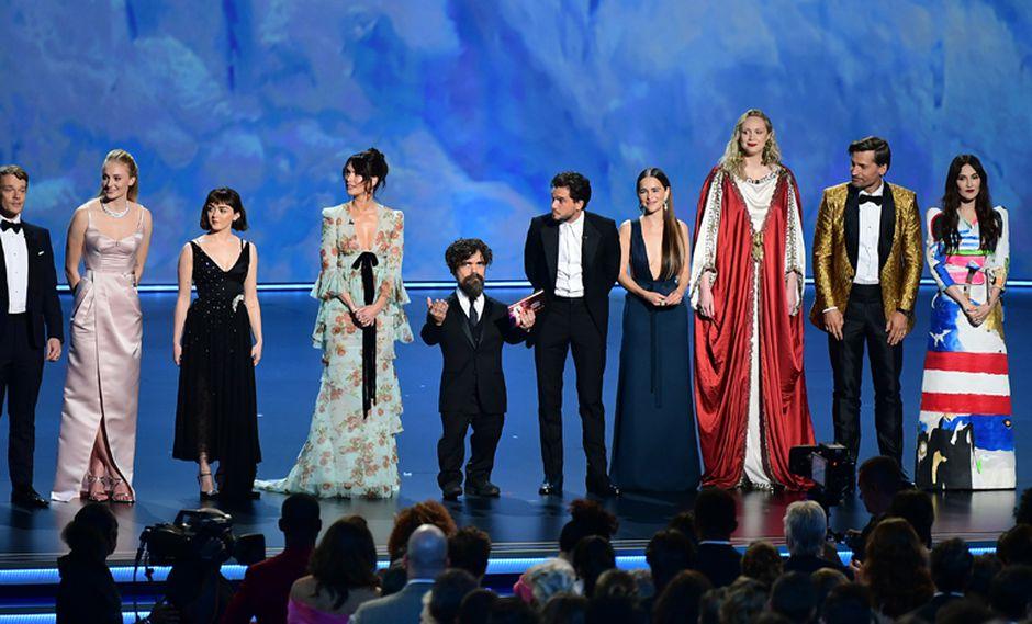 Game of Thrones era una de las favoritas en la ceremonia de los premios Emmy, que se llevó a cabo el último domingo. (Foto: AFP)