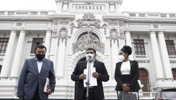 Congresista electo Bernardo Quito indicó que los legisladores jurarán al cargo el 23 de julio. (Fotos: César Campos /@photo.gec)