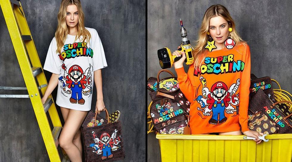 La nueva colección de Moschino se inspira en Super Mario Bros - 2