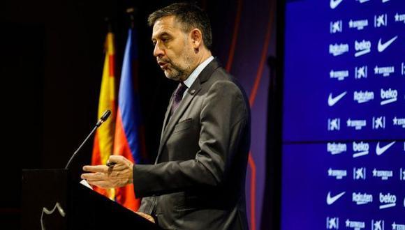 Josep Maria Bartomeu ejerce el cargo de presidente del Barcelona desde el 2014. (Foto: AFP)