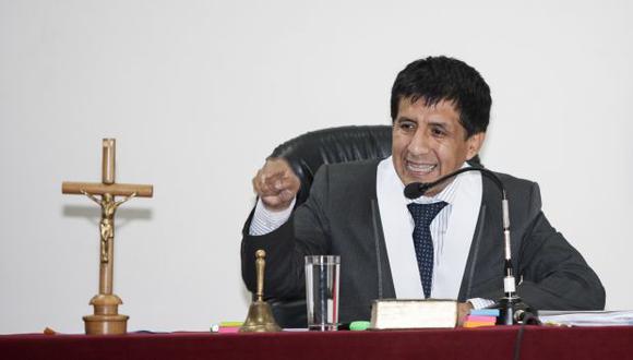 Decisión fue tomada por el juez Richard Concepción Carhuancho. (Foto: Archivo El Comercio)