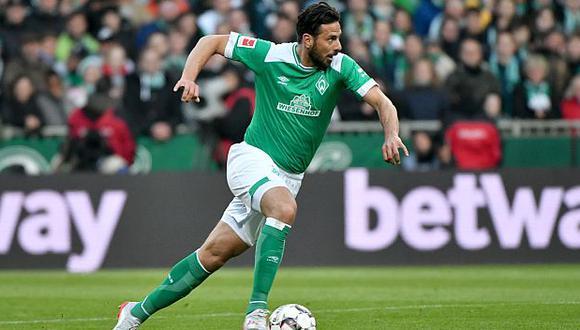 Claudio Pizarro ha participado en 15 de los 24 partidos que tiene Werder Bremen en la presente edición de la Bundesliga. (Foto: Werder Bremen)