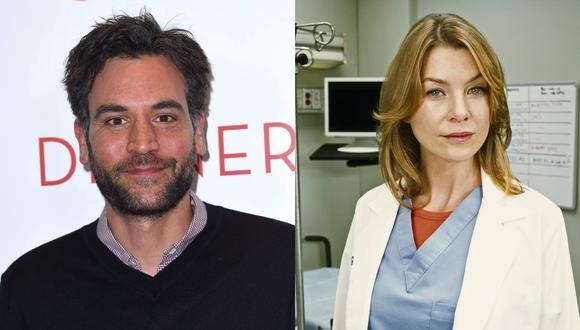 """Josh Radnor  y Ellen Pompeo juntos en la serie """"Grey's Anatomy"""". (Foto: Difusión)"""
