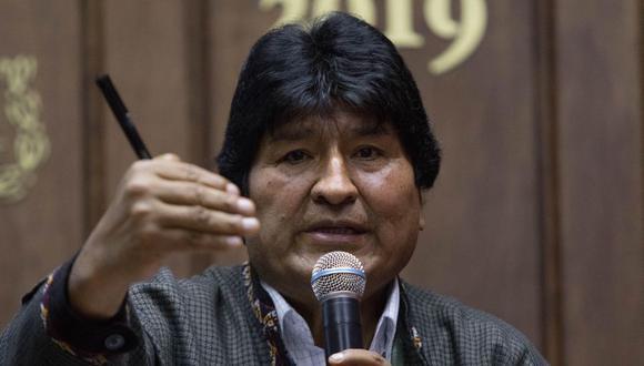El expresidente, Evo Morales dejó de hospedarse en un campo militar y ayer se mudó a un domicilio en Ciudad de México en el que ya no percibirá ayuda de manutención del Gobierno mexicano, reveló este miércoles el boliviano. (Foto: EFE).