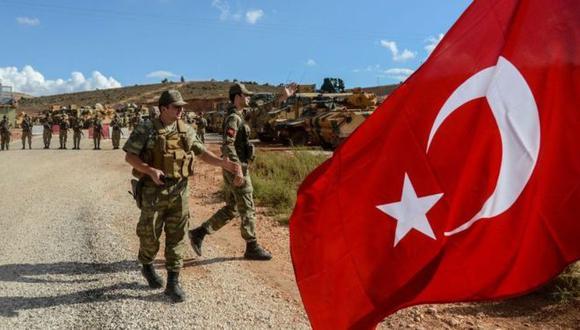 """Turquía quiere eliminar a las fuerzas kurdas en la zona fronteriza con Siria y crear una """"zona segura"""". (Foto: Getty Images, vía BBC Mundo)."""