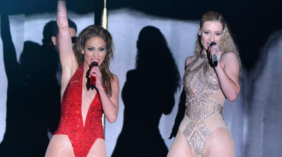 AMA'S 2014: la presentación de Jennifer López e Iggy Azalea - 1