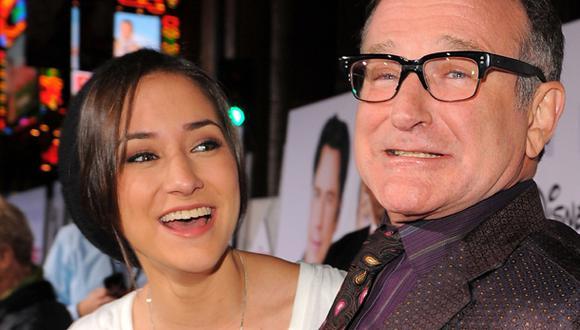 """Hija de Robin Williams: """"Me cuesta volver a ser feliz"""""""