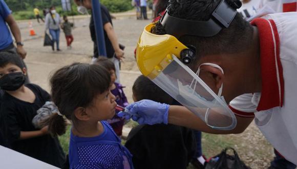 Casi 19.000 eran menores solos, de los cuales la mayoría provenía de los países del Triángulo Norte centroamericano: 8.015 eran de Guatemala, 5.629 de Honduras y 2.115 de El Salvador. (Foto: Johan ORDONEZ / AFP).