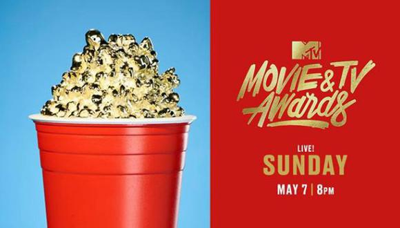 Los MTV Movie & TV awards 2017 serán entregados el domingo 07 de mayo. (Foto: Facebook)